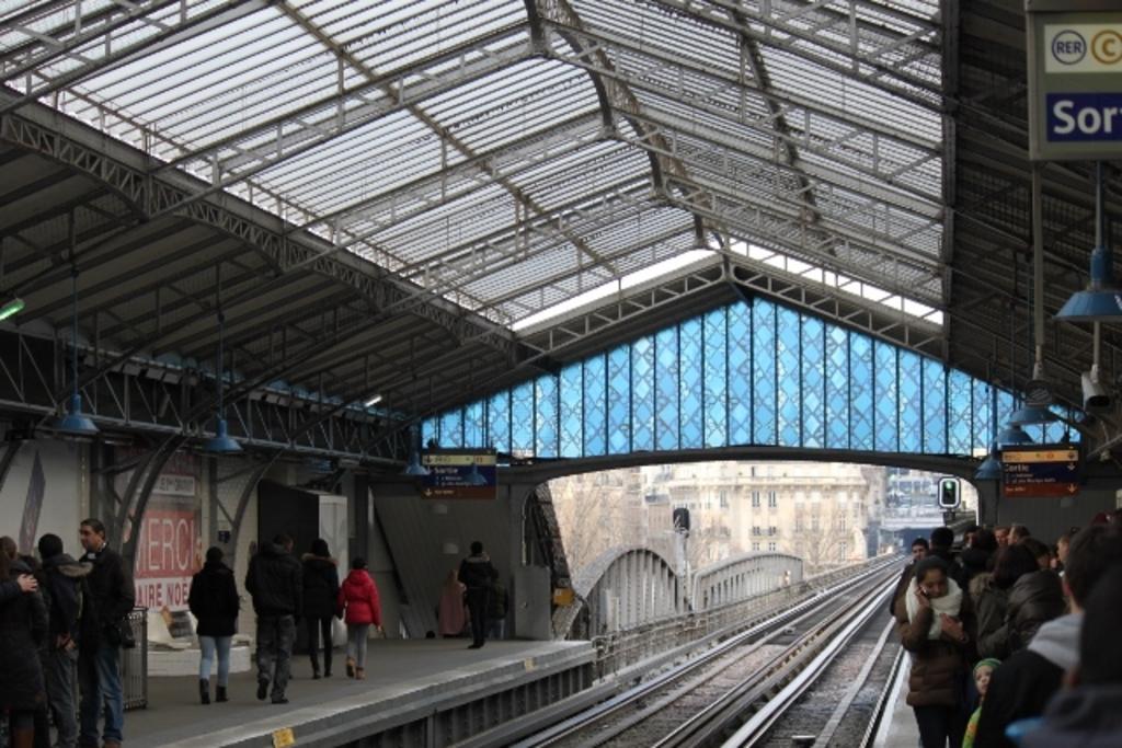 Metro de Paris, 2014
