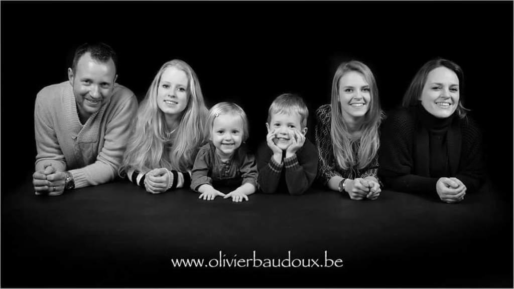 Olivier, Emma, Cécilia, Joachim, Candice and Valérie