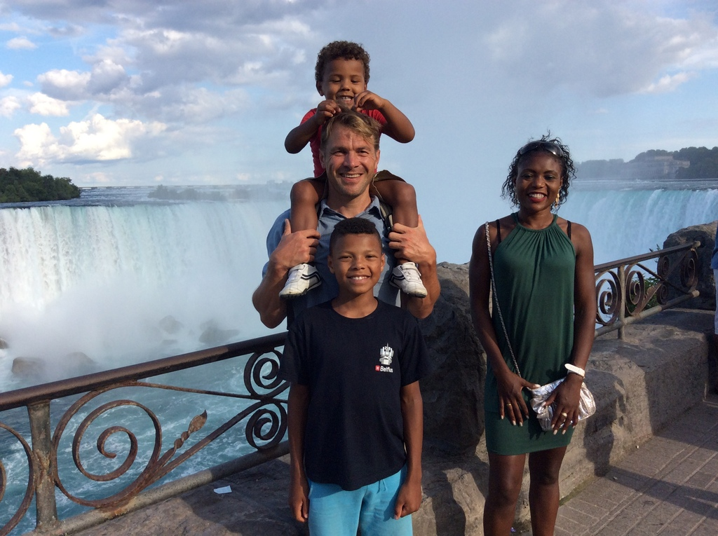 Our family at Niagara falls 2016