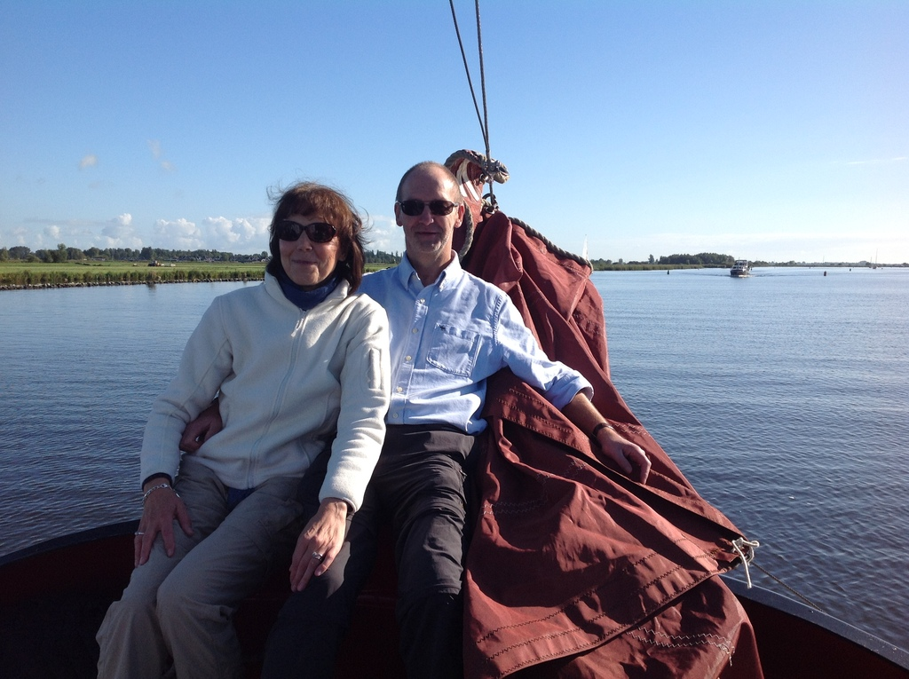 During a sailing trip in the Netherlands