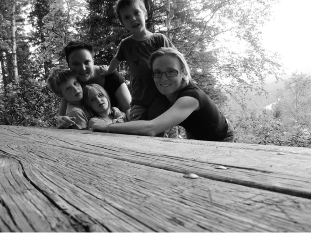 Our family in Wells gray in Canada (may 2015)
