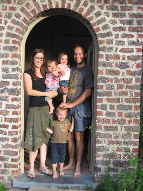 Our family in 2011, just moved into our new home