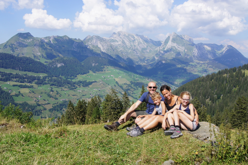 Our last home exchange trip - Switzerland.