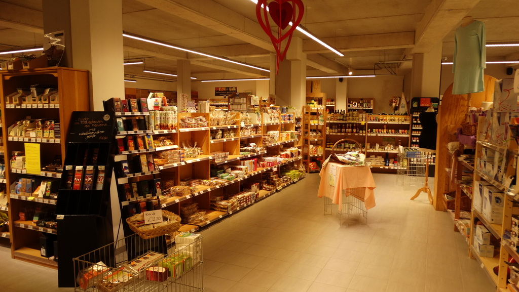 Photo of our organic shop