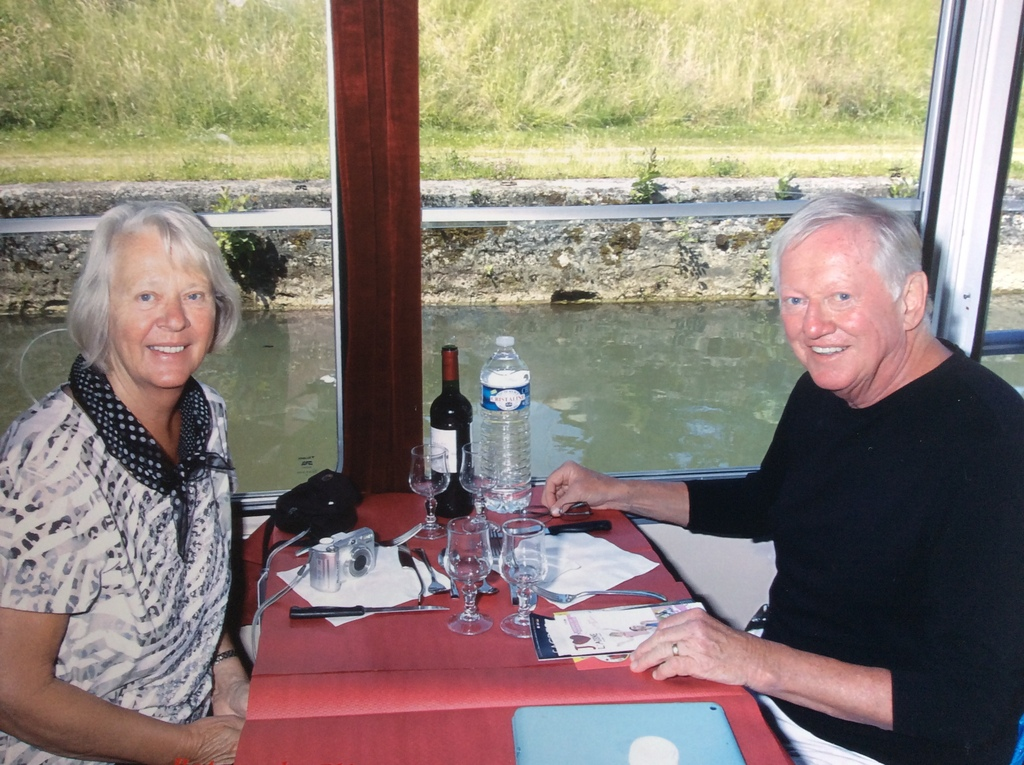On river cruise in France