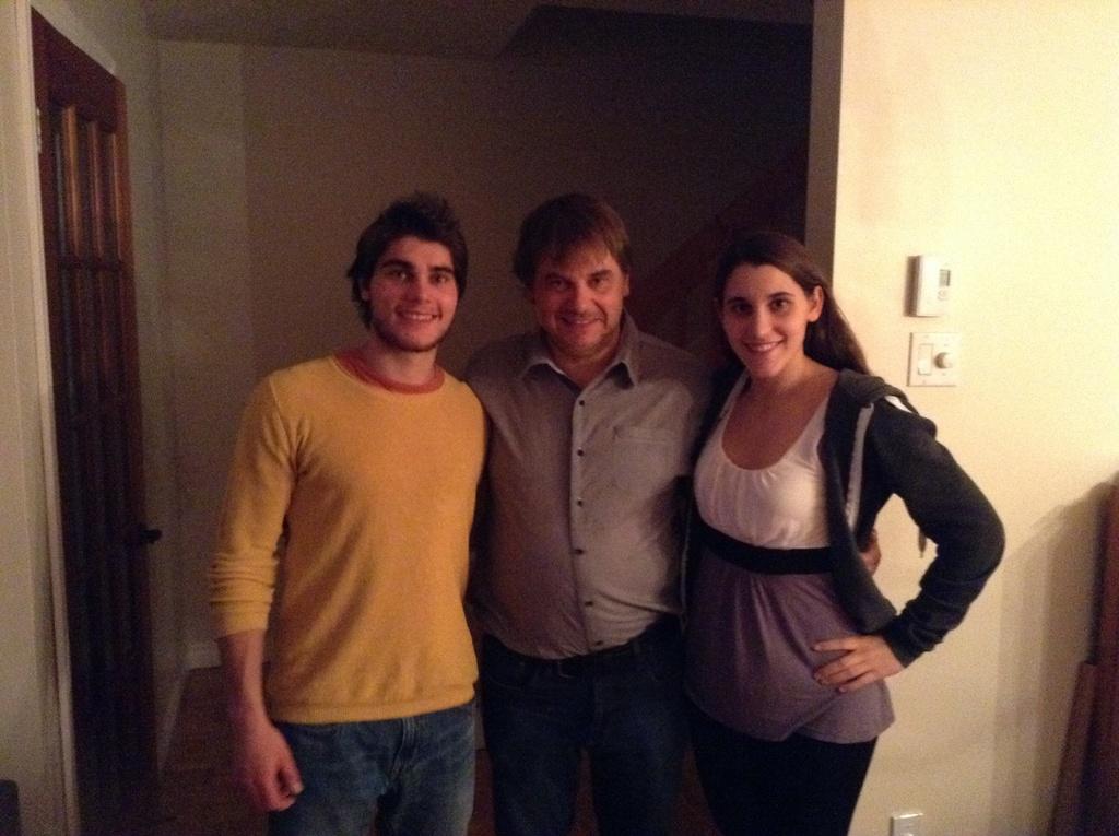 Hugues, Onil et Maude