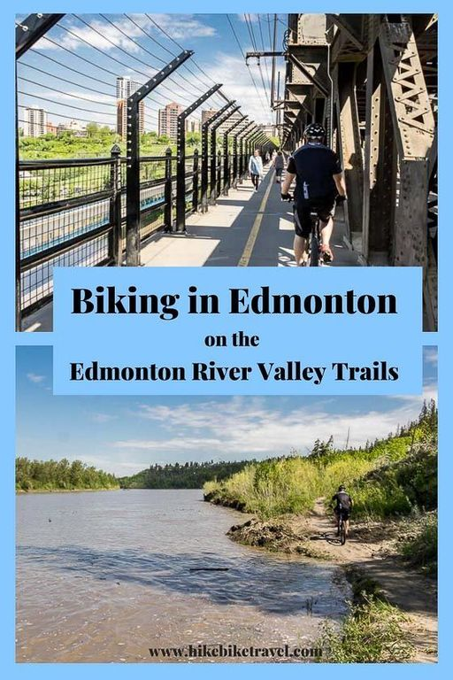 Bike Trails from behind our house - through the river valley for many miles in either direction.