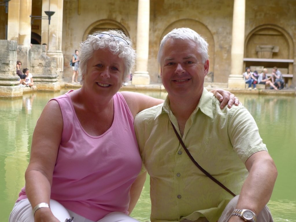 Nancy and Joe Sotham in Bath, England 2013.