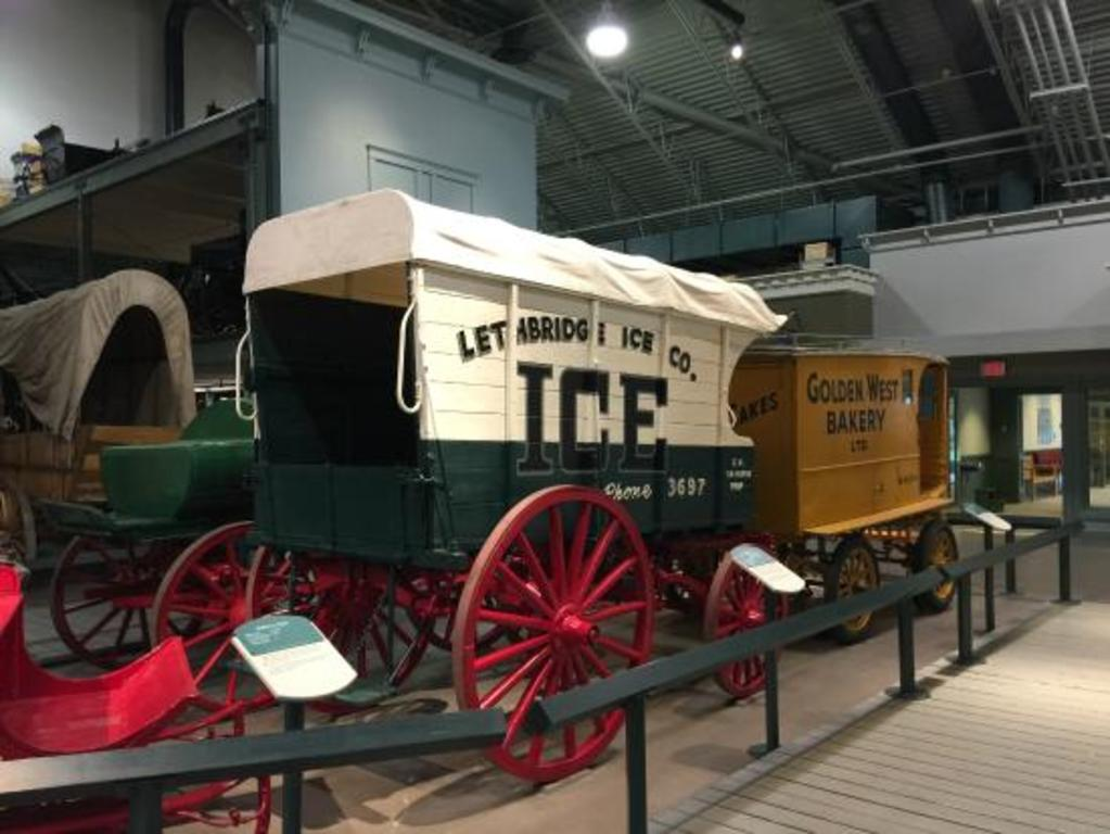 Remington Carriage museum has the largest number of horse-drawn carriages in North America!