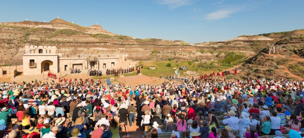 Alberta's own Passion Play - in a natural outdoor amphitheatre.
