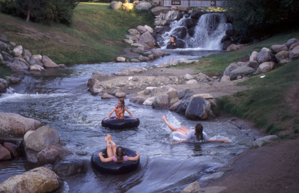 Rafting at Discovery Canyon in Red Deer.