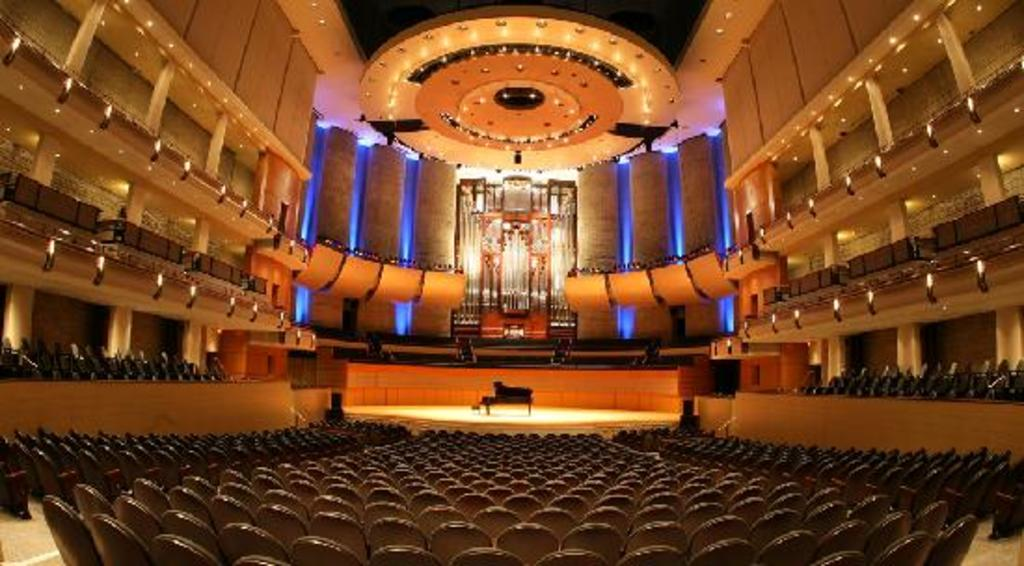 Edmonton's Winspear Centre - one of the best acoustical theatres in Canada.