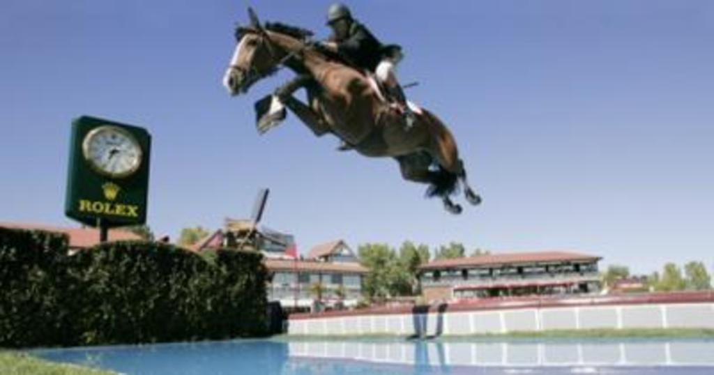 Spruce Meadows, Calgary, hosts international level equestrian events.