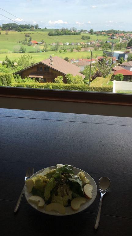 le repas... dedans ou dehors?