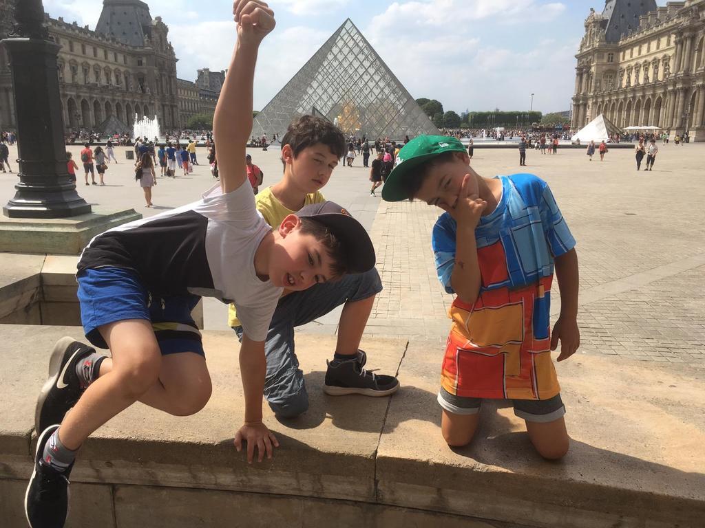 visiter le Louvre?!?