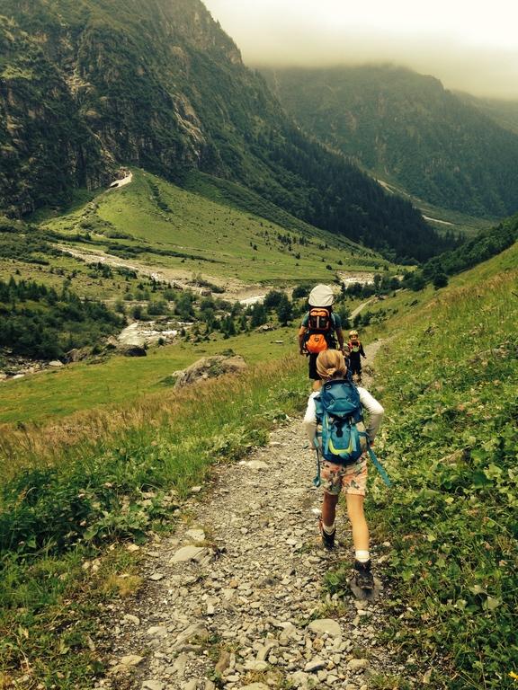 Hiking in Engelberg.