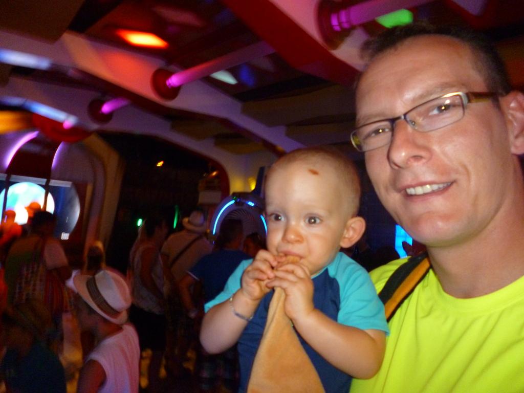 Papa und Hannes