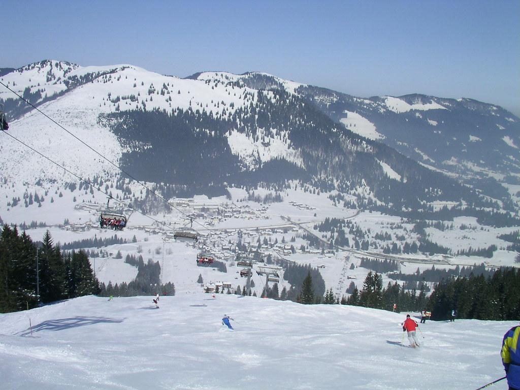 skiing in Oberjoch