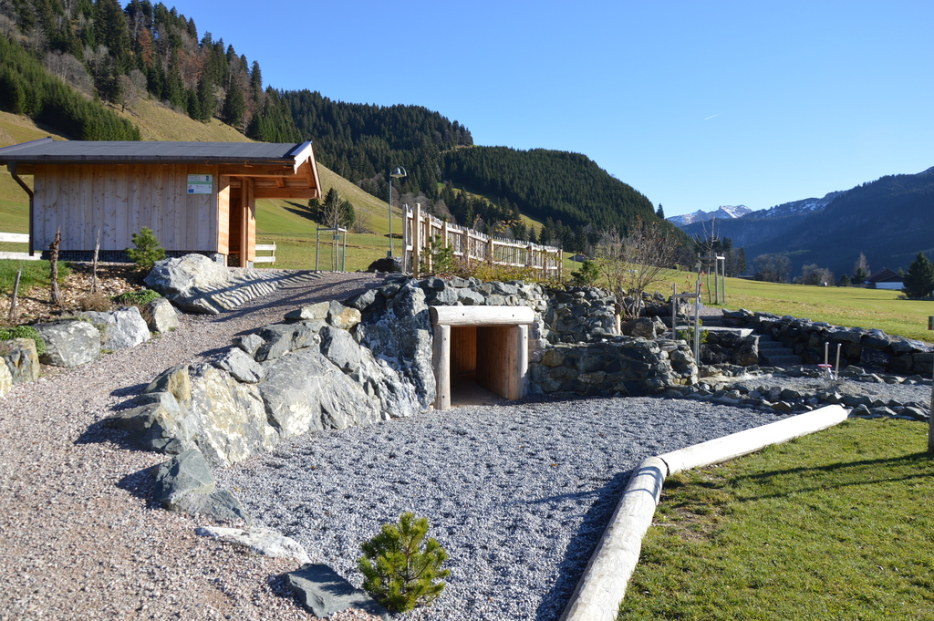 water playground in Kappl Wies, Austria