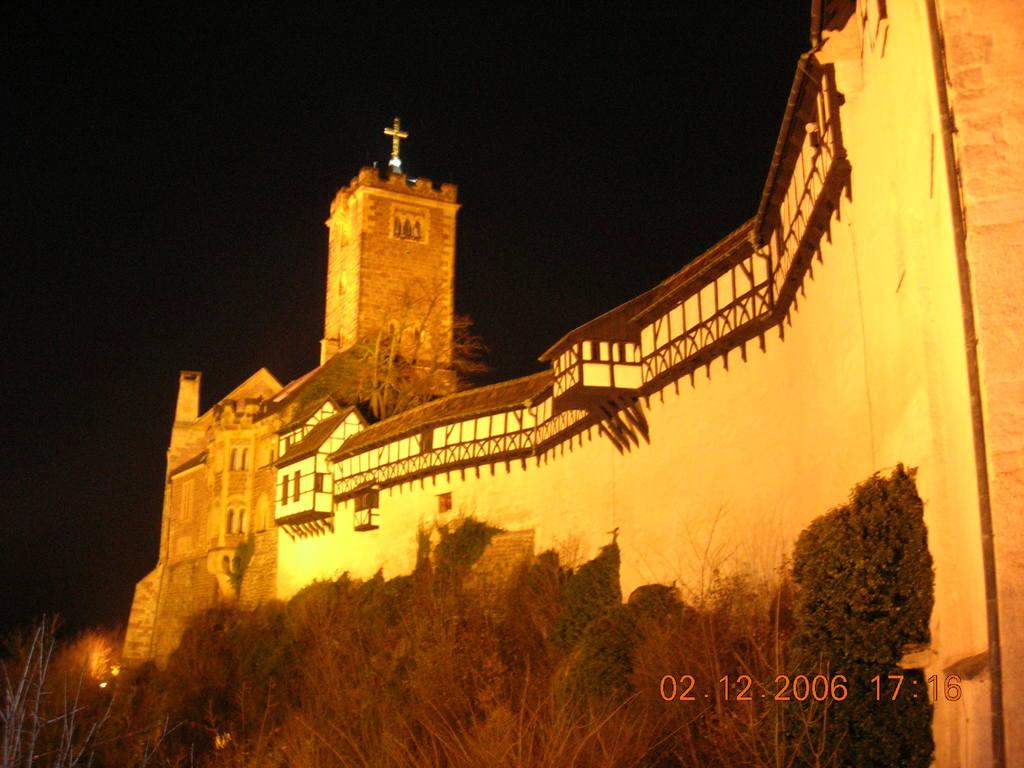 Die Wartburg bei Eisenach (Weltkulturerbe) / Wartburg Castle (world heritage)