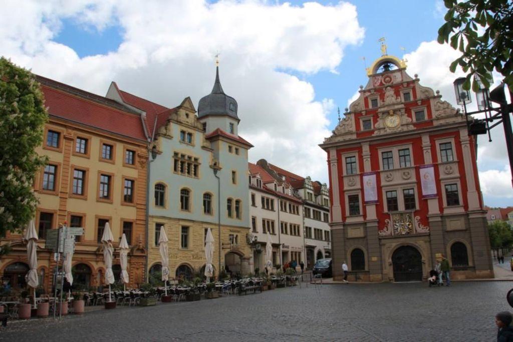 unterer Hauptmarkt in Gotha/ market place in Gotha