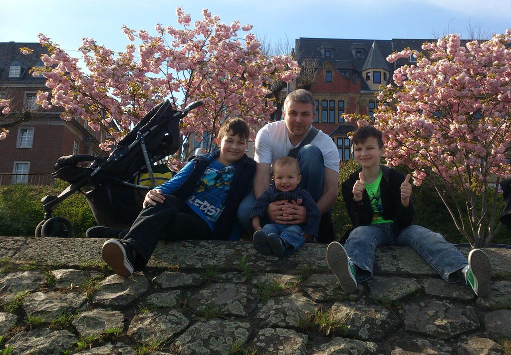 Iakov, Dmitry, Semen and little Mark