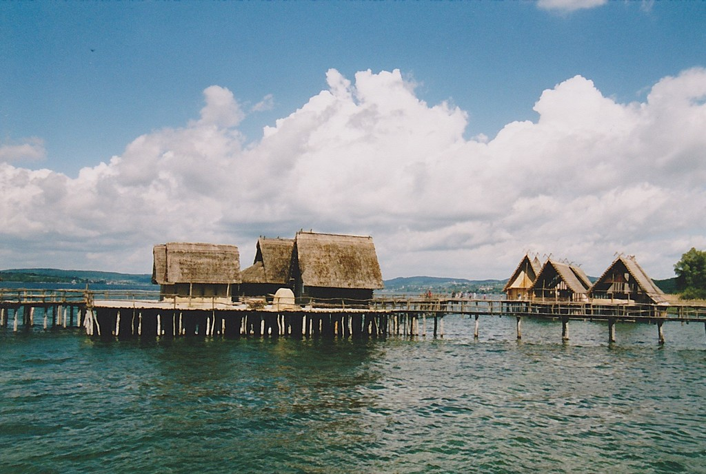 UNESCO world heritage site on Lake Constance: the pile dwellings in Unteruhldingen