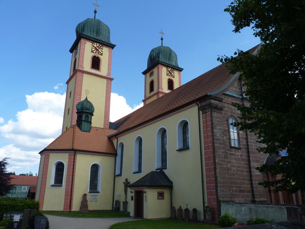 Monastery St. Märgen (895m)