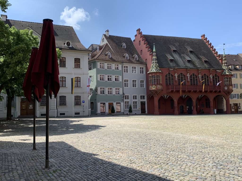 Münster Square with The Old Merchants' Hall