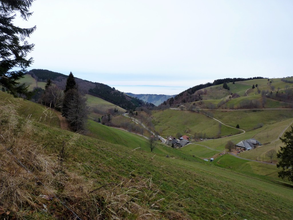View from Wiedener Eck (1035m)