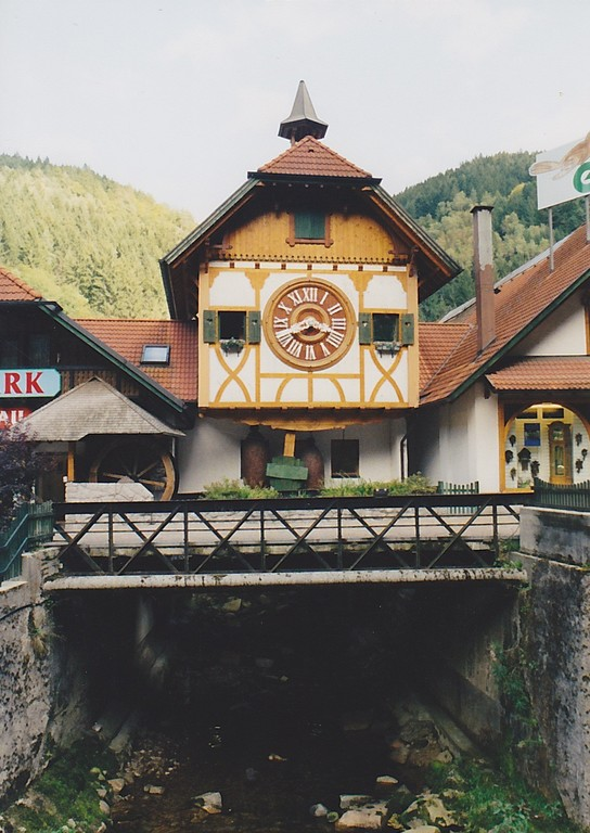 The world's largest cuckoo clock in Schonach
