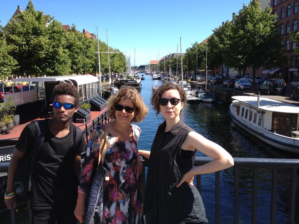 Sebastian, Heidi & Amanda in Berlin