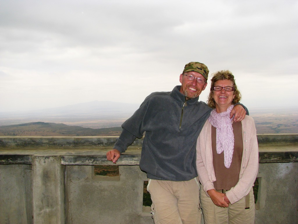 Lars & Heidi at The Great Rift Valley
