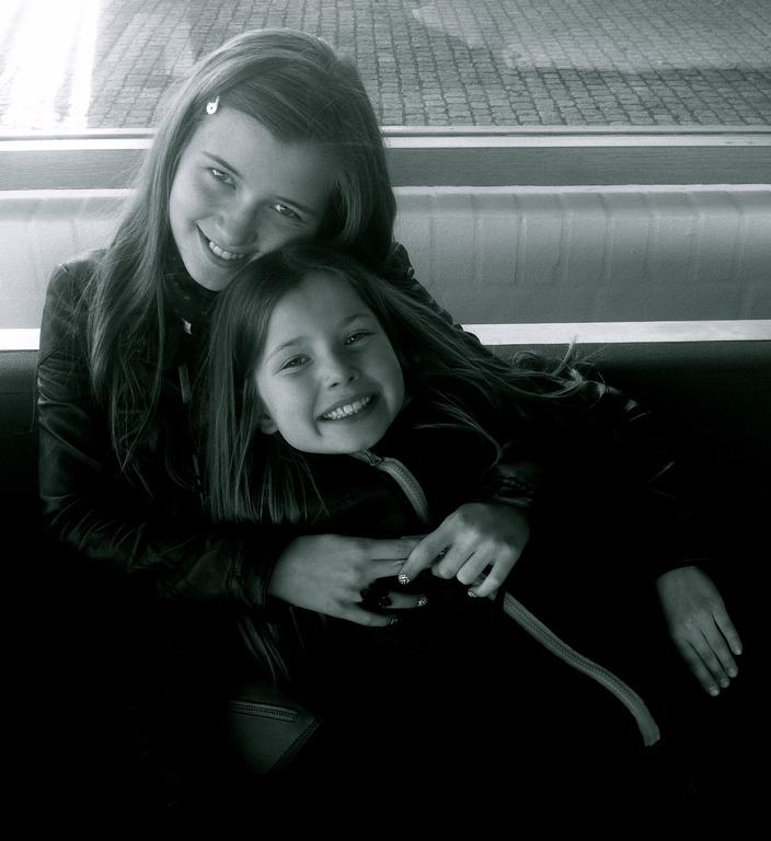 Julie (13) & Rose (10)