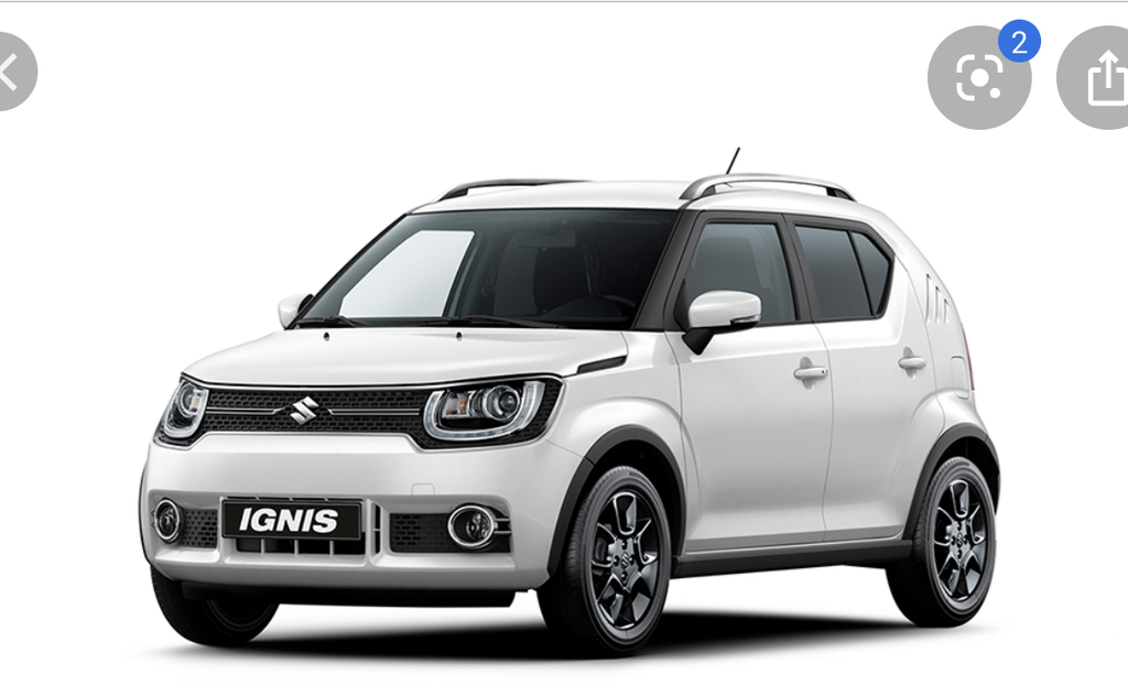 Our car is a Suzuki Ignis from 2017 (manual gear)