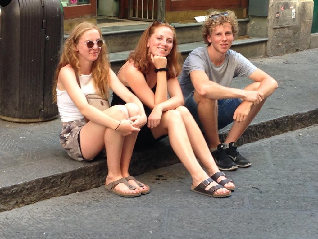 Gustav, Klara og Martha