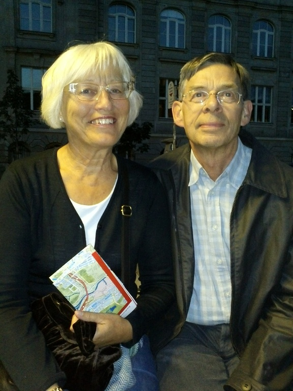My parents, Annette and Steffen.