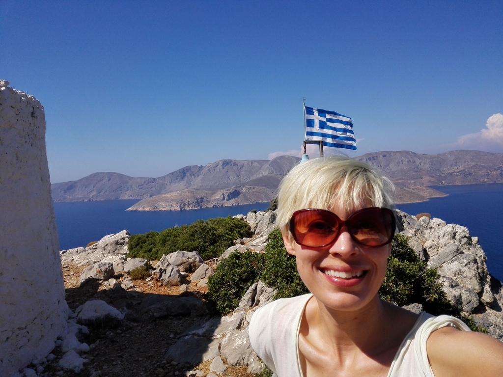 Hiking in Greece:-).