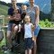 Our family in Austria where we made a home exchange last summer
