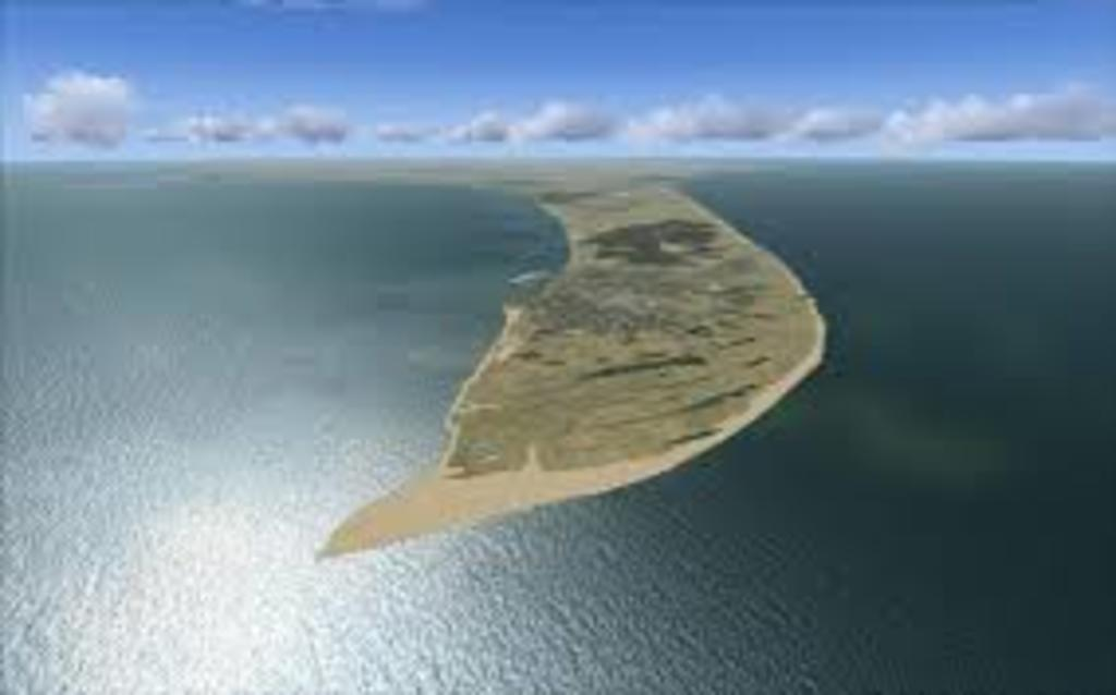 Skagen. The northernmost city of Denmark. This is where the waters, Skagerrak and Kattegat meet.