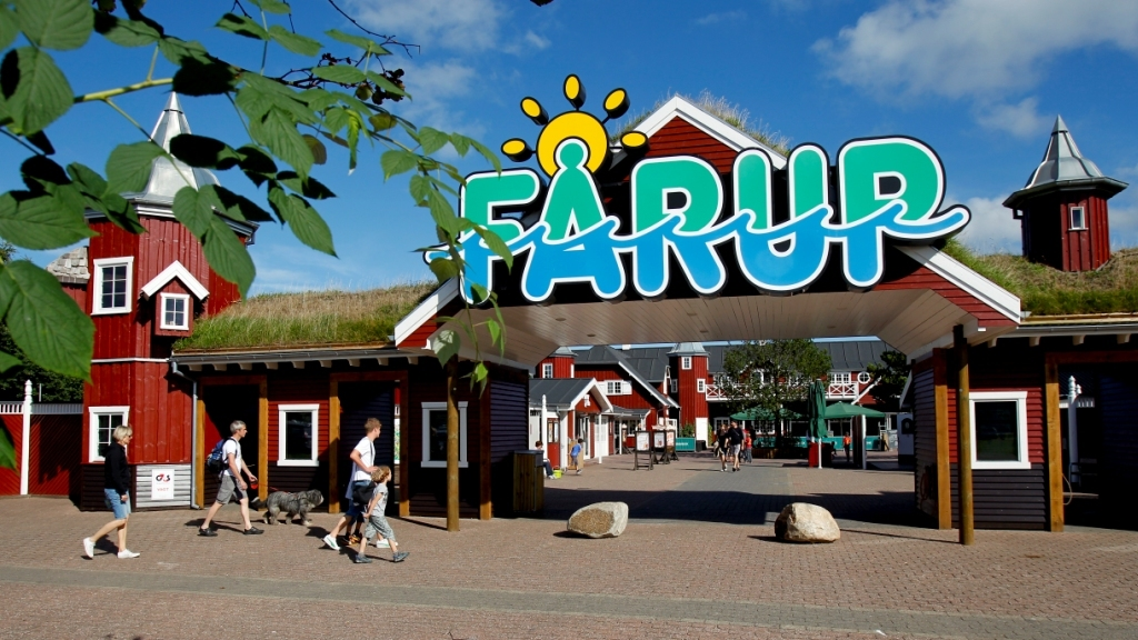 Amusement Park, Fårup Sommerland, only 40 minutes from our House.