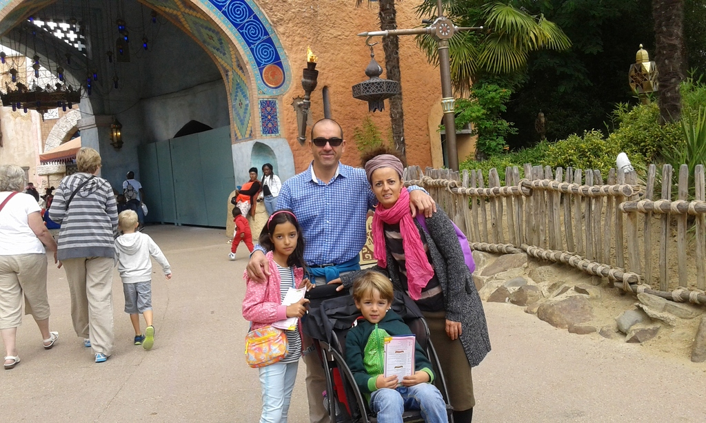 Our family in Disneyland Paris Summer 2015