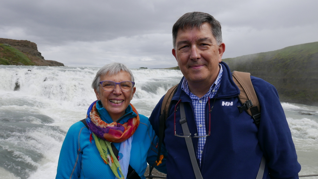 Josep-Anton and Montse in Iceland (summer 2017)