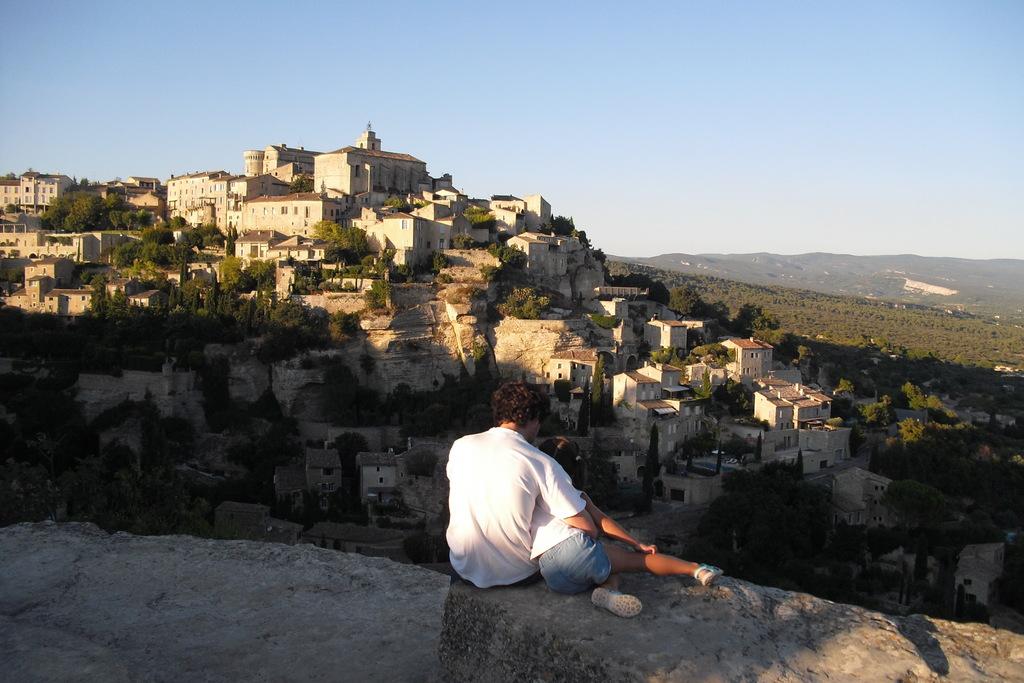 César & Cayetana in La Provence