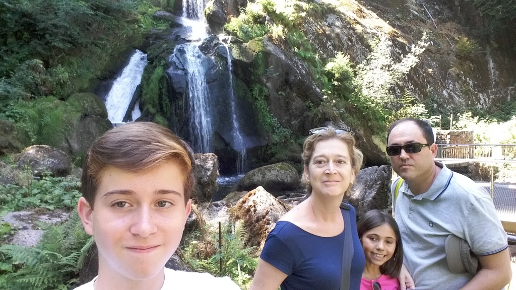 Family picture in Germany, summer 2015