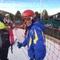 Pol. He loves skiing.