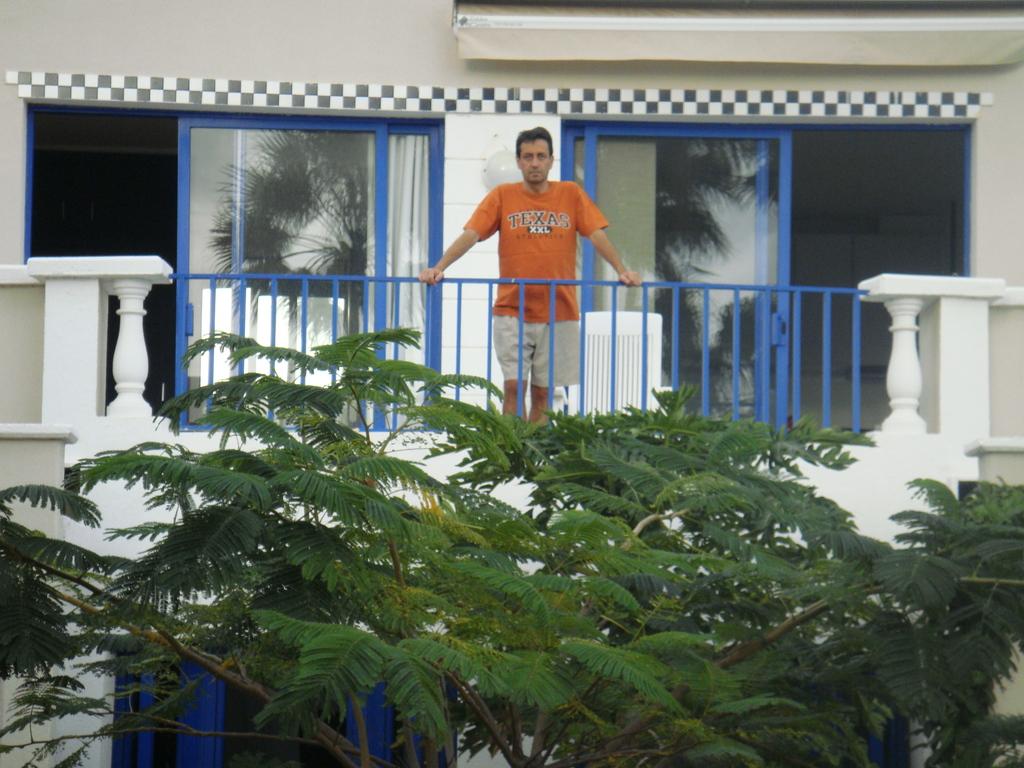 Juan in the terrace