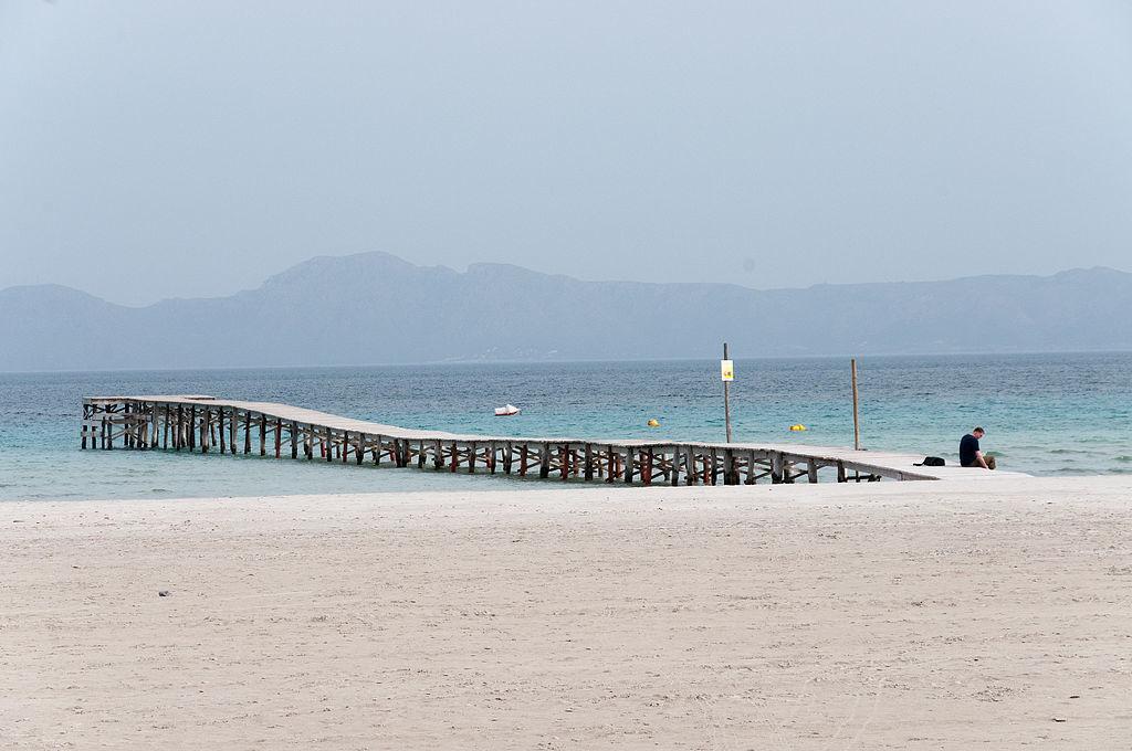 playas de Muro a 15 minutos del apartamento