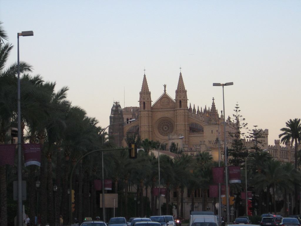 La Seu (Church) en Palma capital. A 35 minutos de la casa