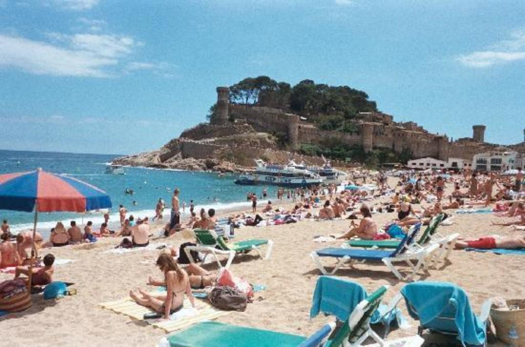Tossa de mar is a famous costa brava beach just 1h from home by car